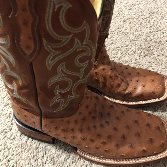 71ae78c4e73 Justin Full Quill Ostrich boots